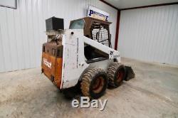 Bobcat 853h Skid Steer Wheel Loader, 58 Hp, Operating Weight 6550 Lbs