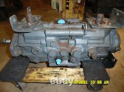 Bobcat 873 Skidsteer Hydraulic Tandem Pump 6669719