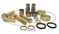 Bobcat Bobtach Pin Bushing Kit S130 Skid Steer Lower Upper Pivot Cup Seal Rubber