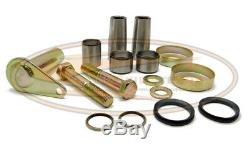 Bobcat Bobtach Pin and Bush Kit 1.25 Inch Skid Steer Loader Seal Cup Pivot
