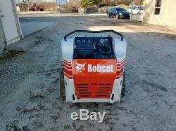 Bobcat MT55 Walk Behind Track Skid Steer Loader, Aux Hydraulics