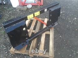 Bobcat/Skid Steer Bale Frame 2 x M28 x 1100mm Conus 2 Tines
