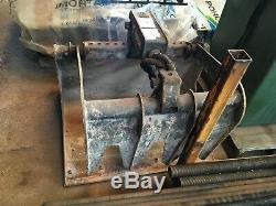 Bobcat Skid Steer Loader Bucket Grapple Hydraulic Grab Waste Attachment, Inc Vat
