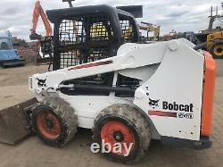 Bobcat Skid steer S510 Bobcat loader. Skidsteer 2015 Low Hours Jcb Case