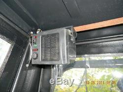 Bobcat T190 T250 T300 1/2 Lexan Door! Skid steer Poly Mulcher Mower
