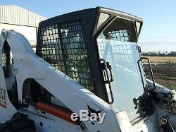 Bobcat T190 Through T320 1/2 Mower Mulcher Lexan Poly Skid Steer Door loader