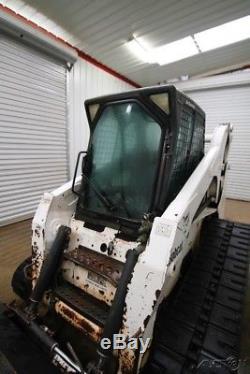 Bobcat T300 Cab Skid Steer Track Loader, 81 Hp, Ac/heat