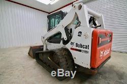 Bobcat T650 Cab Skid Steer Loader, 2-speed, Ac/heat, Only 1441 Hrs