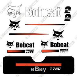 Bobcat T750 Compact Track Loader Decal Kit Skid Steer T-750 T 750