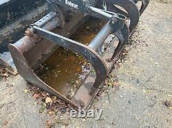 Bobcat double ram bucket grab skid steer grab