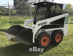 Bobcat skid steer 543 Front Loader Bucket Digger Dumper 1.3t Jcb Holland