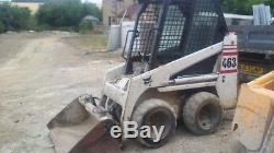 Bobcat skid steer loader 463