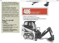 Bobcat skid steer loader Backhoe Digger Attachment Only (Skid Steer Not Inc)