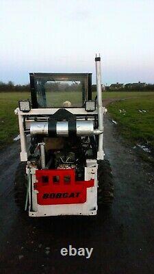 Bobcat skid steer m610 loader skidsteer