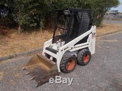 Bobcat skid steer skidsteer loader kubota engine delivery ok