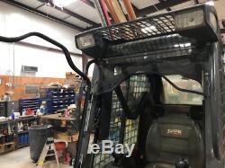 CASE 40XT 60XT 70XT 90XT Lexan SAFTEY FORESTRY DOOR + CAB SKID STEER loader