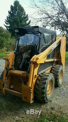 CASE 40XT to 90XT Mower MULCHER DOOR + CAB. Lexan Poly SKID STEER loader
