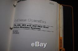 CAT Caterpillar 236 246 252 262 Skid Steer Loader Repair Service Manual owners