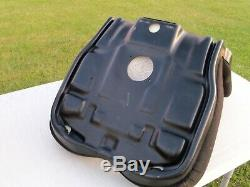 CAT Skid Steer Black Cloth Seat Cushion Kit Terrain Loader Caterpillar 267 277