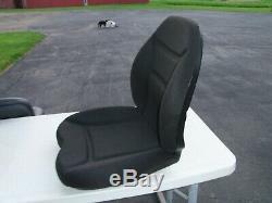 CAT Skid Steer Cloth Seat Cushion Kit Multi Terrain Loader Caterpillar 267 277