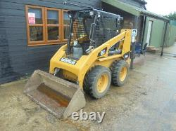 CAT skidsteer/216B3 loader/digger £14750 + VAT