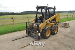 CATERPILLAR 216 B3 Cat y2013 SKID STEER COMPACT LOADER +Bucket +Forks £13750+VAT