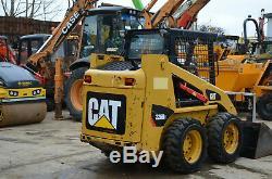 CATERPILLAR 226 B3 SKID STEER LOADER year 2011 Cat Diesel Engine £10250+VAT