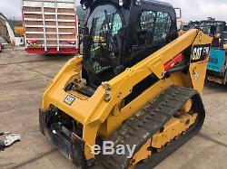 CATERPILLAR 279 D Cat y2016 HIGH FLOW XPS SKID STEER TRACKED LOADER £38500+VAT