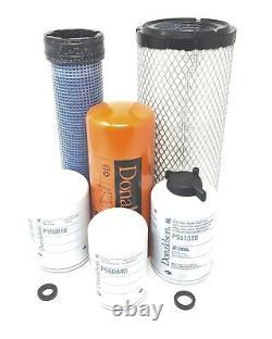 CFKIT Maintenance Filters Kit for/CASE/CASE IH 580E Backhoe Loaders