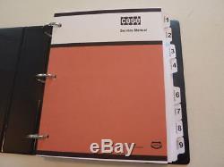 Case 1816, 1816B, 1816C Uni-Loader Skid Steer Service Manual Repair Shop NEW