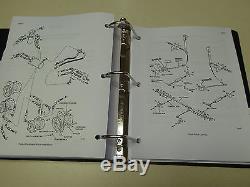 Case 1818 Uni-Loader Skid Steer Service Manual Repair Shop Book NEW with Binder