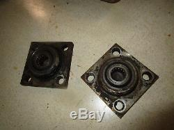 Case 1835B ONE Drive Motor Bearing Housing Skid Steer Loader 1835