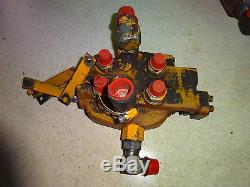 Case 1845 Hydraulic Control Valve Skid Steer Loader 1825B 1835 1840 1845C 1845B