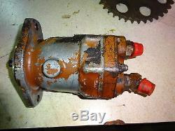 Case 1845 ONE Drive Motor Wheel Hydraulic Skid Steer Loader 1845C 1845B