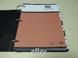 Case 1845C Uni-Loader Skid Steer Service Manual Repair Shop Book NEW withBinder