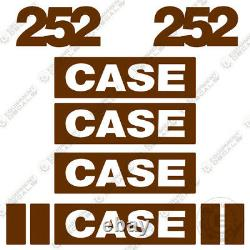 Case 252 Roller Decal Kit Equipment Decals Replacement Stickers