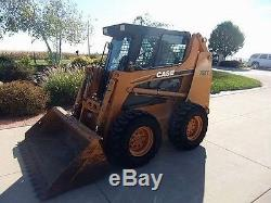 Case EXTREME DUTY 1/2 Door and cab enclosure. Skid steer loader glass window