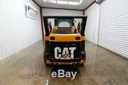 Cat 242b Wheeled Skid Steer Loader, Open Rops, 57hp, Float