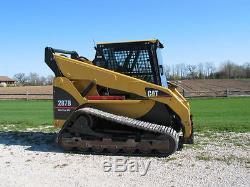 Caterpillar 216B Cat 1/2 EXTREME DUTY DEMO door and enclosure. Skid steer loader