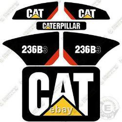 Caterpillar 236B-3 Decals Reproduction Skid Steer Equipment Decals