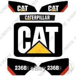 Caterpillar 236B2 Decal Kit Equipment Decals