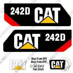 Caterpillar 242D Decal Kit Equipment Decals 242 D (242-D)