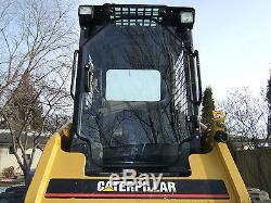 Caterpillar 247 B Cat 1/2 EXTREME DUTY door+ cab enclosure. Skid steer loader