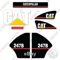 Caterpillar 247B Decals Reproduction Skid Steer Equipment Decals Older Style