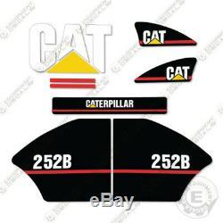 Caterpillar 252B Decal Kit Equipment Decals Older Style