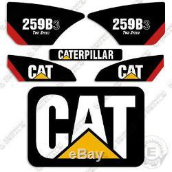Caterpillar 259B-3 2-Speed Decal Kit Equipment Decals