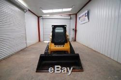 Caterpillar 259b3 Cab Skid Steer Track Loader, 71 HP