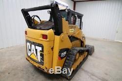 Caterpillar 259b3 Skid Steer Track Loader, Open Rops, 71 HP