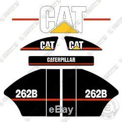 Caterpillar 262 B Decal Kit Skid Steer Equipment Decals