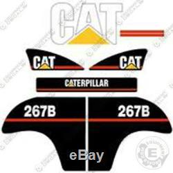 Caterpillar 267b Decal Kit Equipment Decals Older Style 267-b
